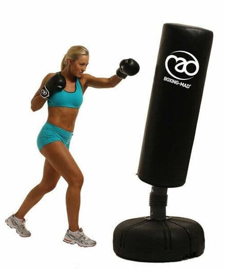 Fitness Mad Free Standing Punch Bag Boxing MMA Gym Fitness